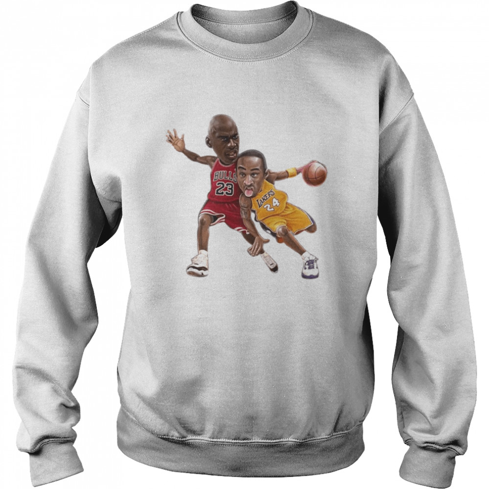 Lebra James and Kobe Bryant  Unisex Sweatshirt