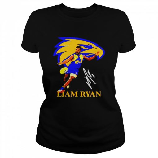 Liam ryan player of team philadelphia eagles football signature  Classic Women's T-shirt
