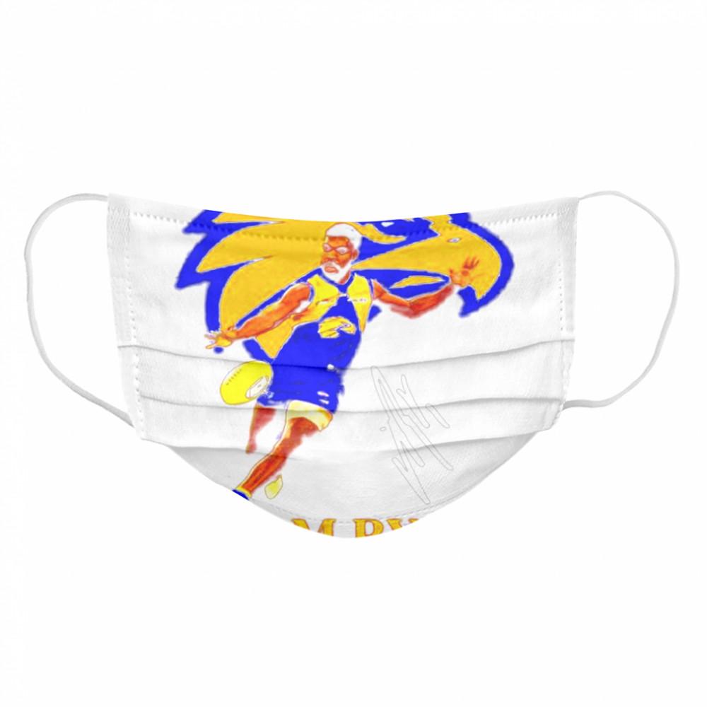 Liam ryan player of team philadelphia eagles football signature Cloth Face Mask