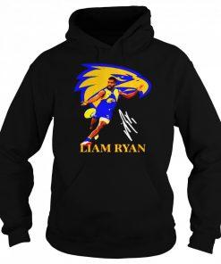 Liam ryan player of team philadelphia eagles football signature  Unisex Hoodie