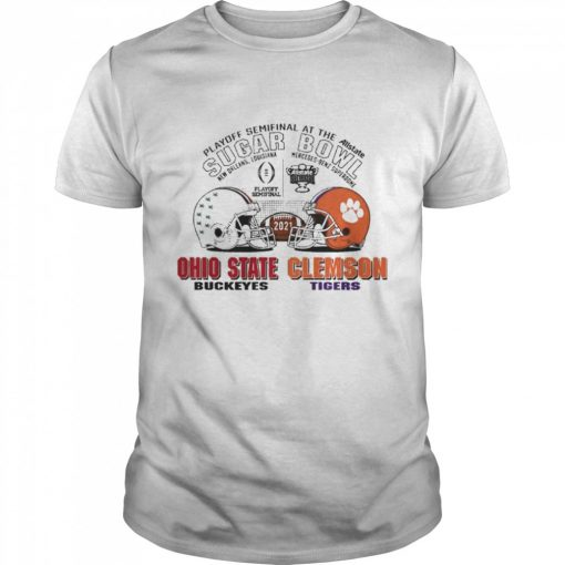 Playoff Semifinal at the Allstate Sugar Bowl 2021 Ohio State Buckeyes vs Clemson Tigers  Classic Men's T-shirt