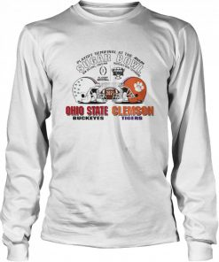 Playoff Semifinal at the Allstate Sugar Bowl 2021 Ohio State Buckeyes vs Clemson Tigers  Long Sleeved T-shirt