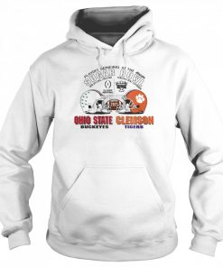 Playoff Semifinal at the Allstate Sugar Bowl 2021 Ohio State Buckeyes vs Clemson Tigers  Unisex Hoodie