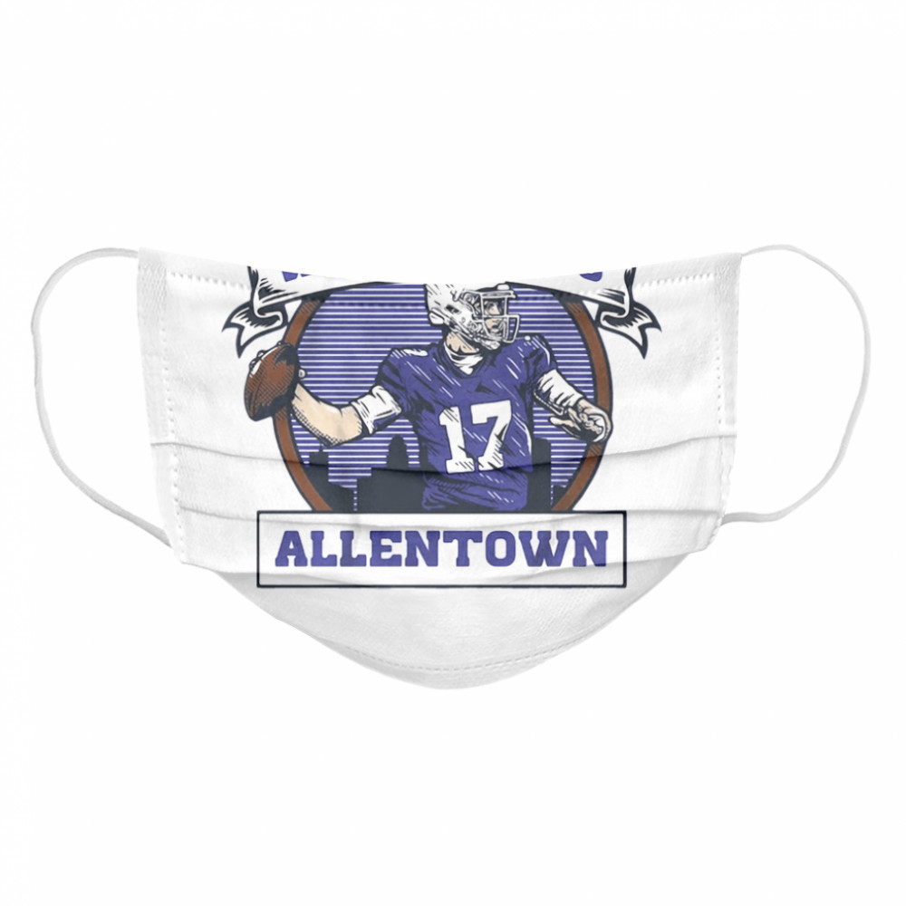 Welcome to Allentown  Cloth Face Mask