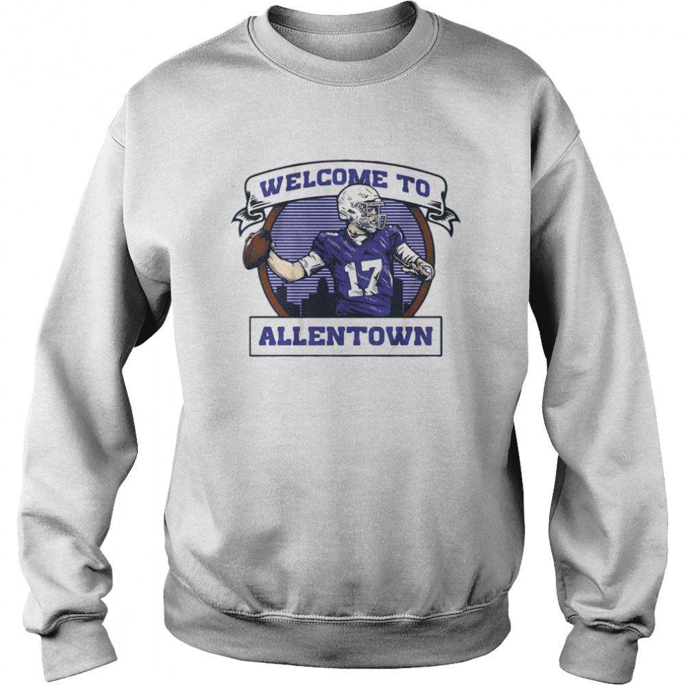 Welcome to Allentown  Unisex Sweatshirt