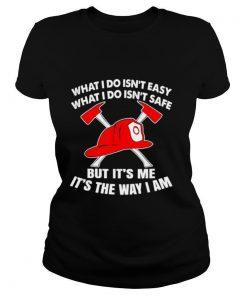 Firefighting Design Volunteer Firefighter shirt