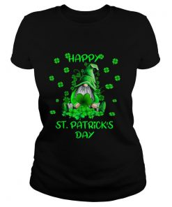 Gnome Happy St Patricks Day tshirt