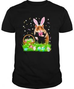 Hamster Easter Day Bunny Eggs Easter Costume shirt