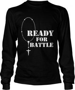 Rosary warrior battle of lepanto rosaries catholic  Long Sleeve