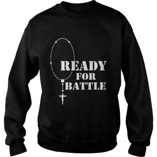 Rosary warrior battle of lepanto rosaries catholic  Sweatshirt