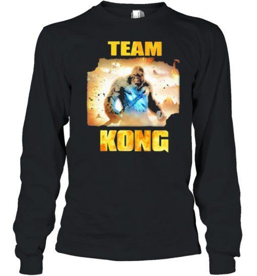 Team Kong The Monster Shirt Long Sleeved T-shirt