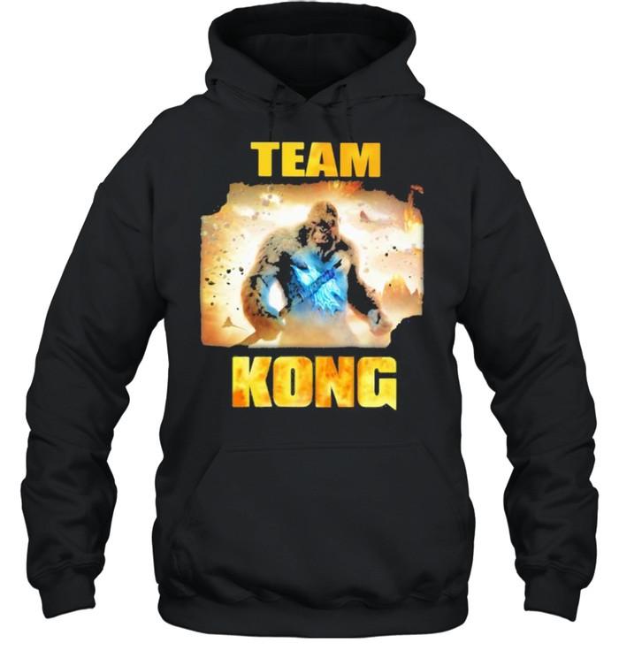 Team Kong The Monster Shirt Unisex Hoodie